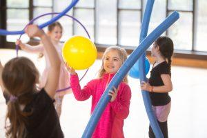 custom child's party hula hoop