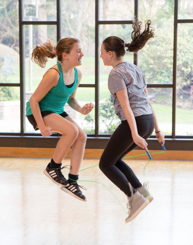 Middle & high school events for girls to engage their bodies and minds in fun