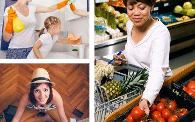 Tips & Tricks to Make Errands / Responsibilities Easier for Busy Moms